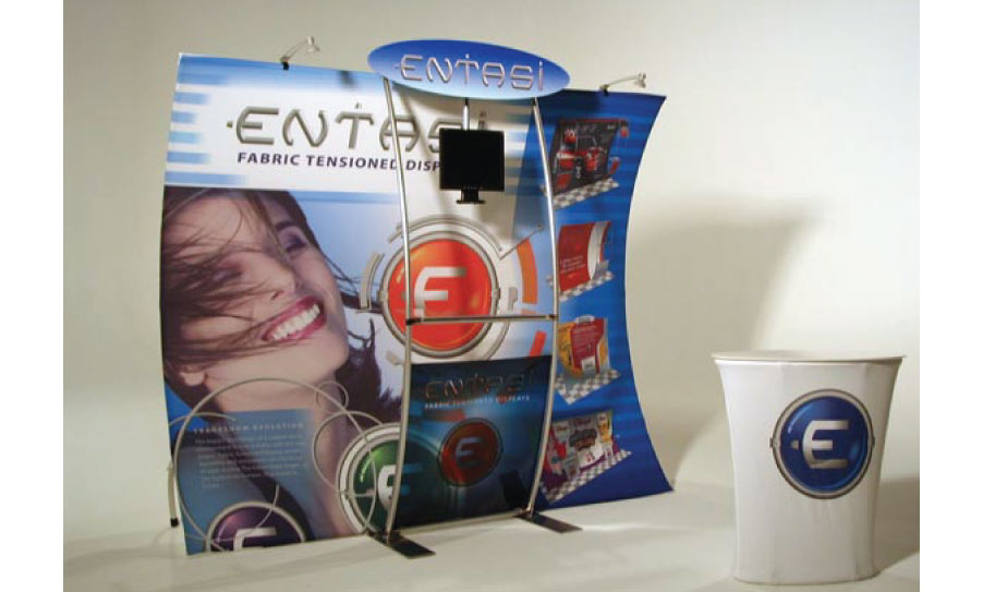 Entasi Tension Fabric Displays