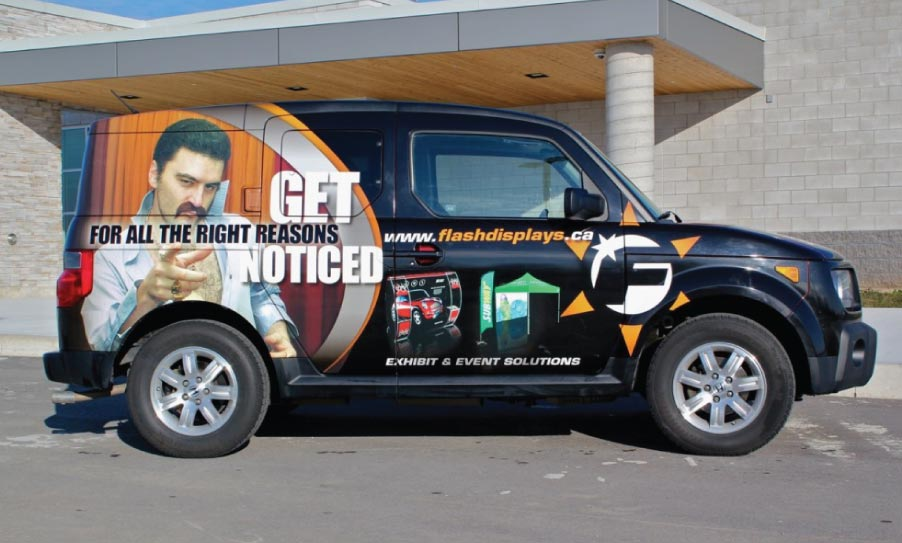 Vehicle Wraps | Vinyl Graphics