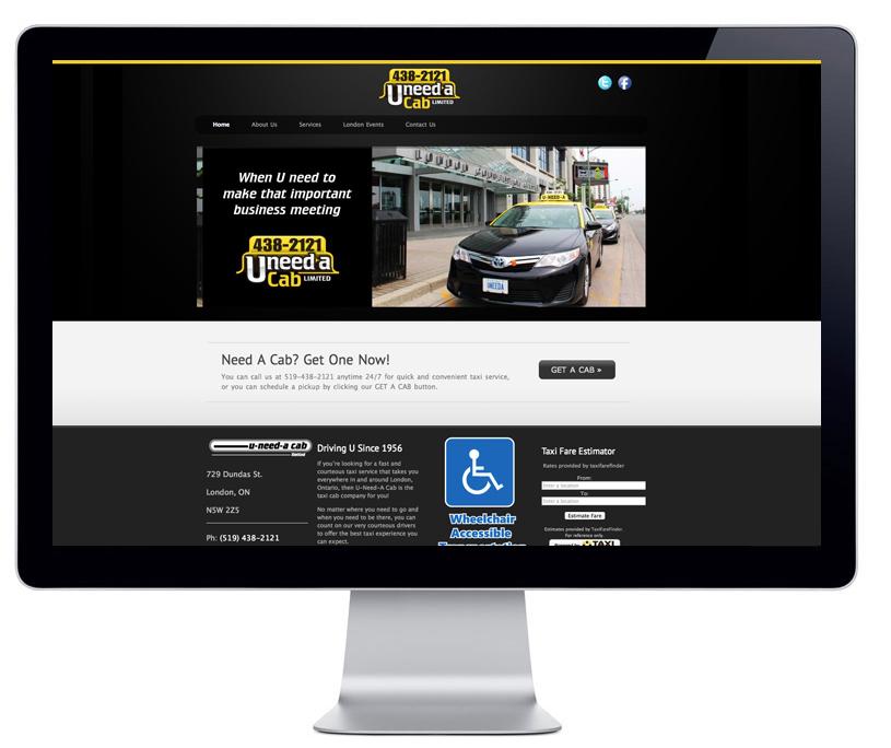uneedacablondon-website
