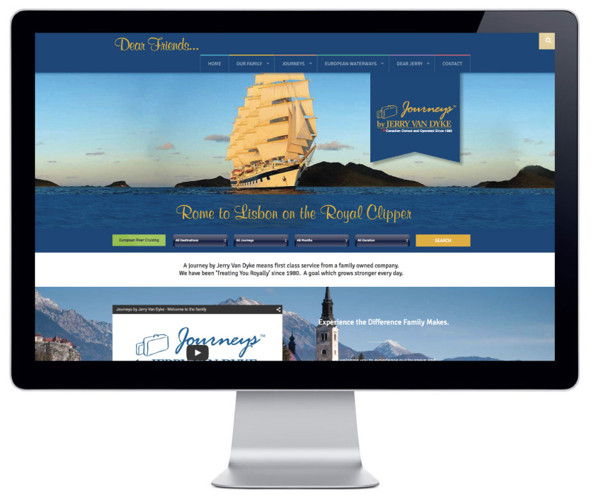 jerry-van-dyke-travel-wordpress-website